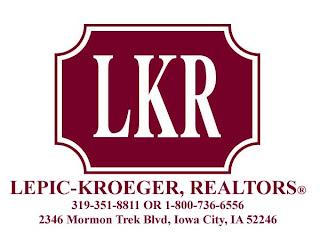 Lepic-Kroeger, Realtors, Iowa City Real Estate