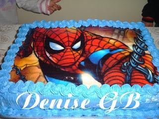 Sabor e prazer bolo do homem aranha bolo do homem aranha altavistaventures Image collections