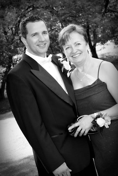 mom and groom