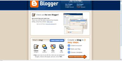 How to Create a Blog Using Blogger