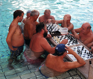 Chess players at Szechenyi