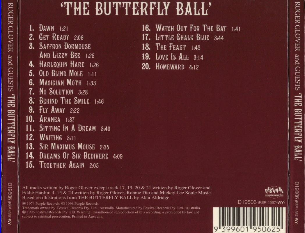roger glover and guests the butterfly ball
