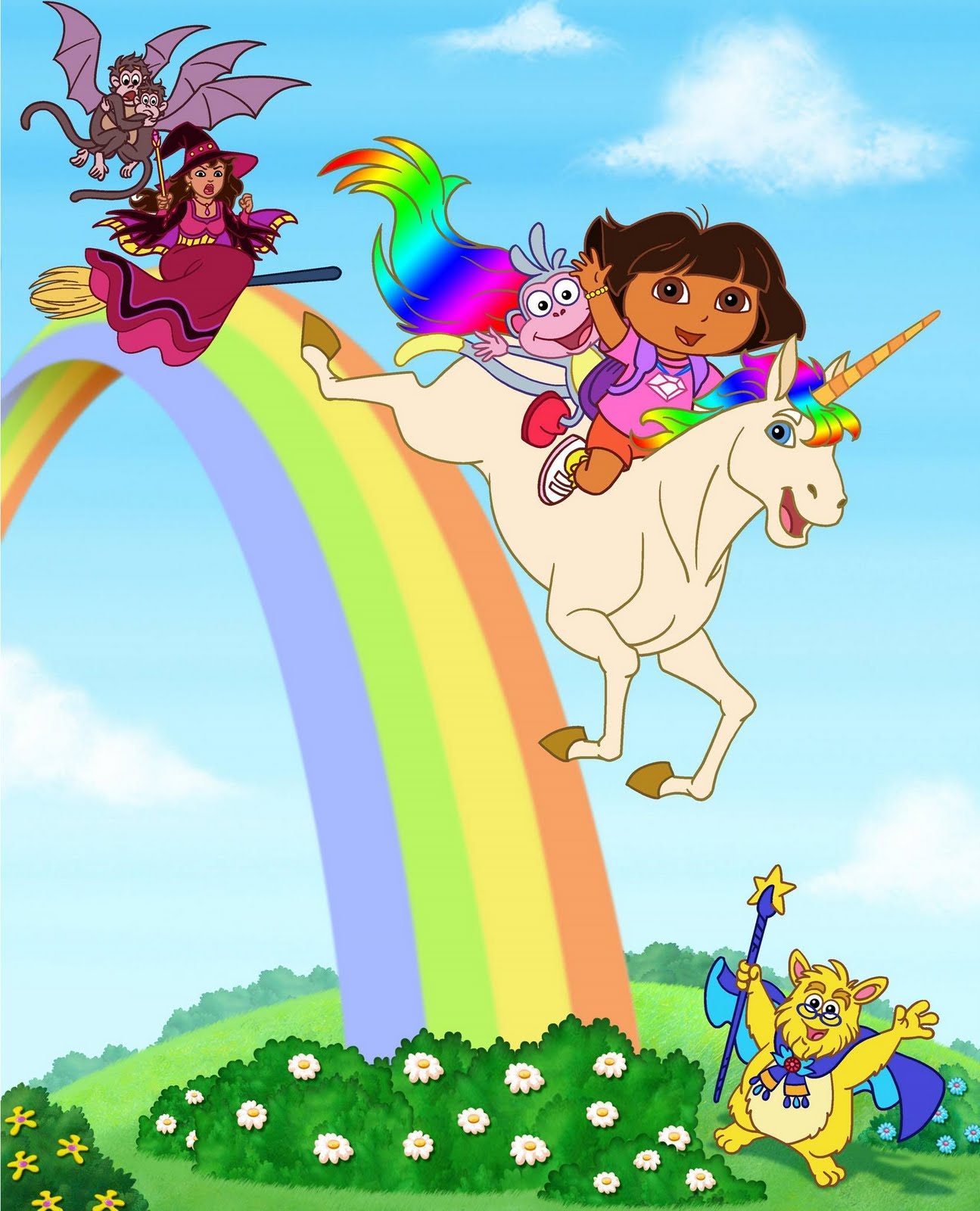 Dora the Explorer Rainbow