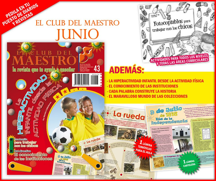 :: EL CLUB DEL MAESTRO :: JUNIO 2010