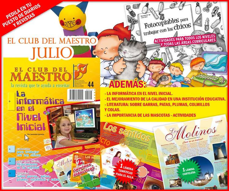:: EL CLUB DEL MAESTRO :: JULIO 2010