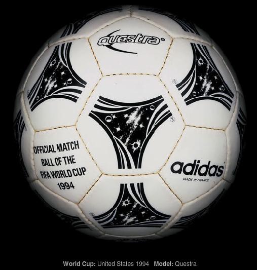las pelotas de los mundiales 1930-2010