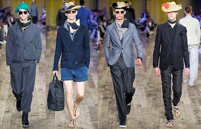 Fashion Hats on Men Fashion   Lanvin Spring Summer Collection   Men Fashion Hats