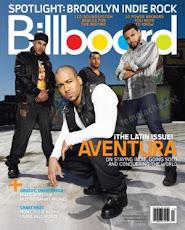 Aventura en portada de la revista Billboard