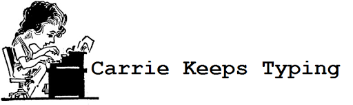 Carrie Keeps Typing