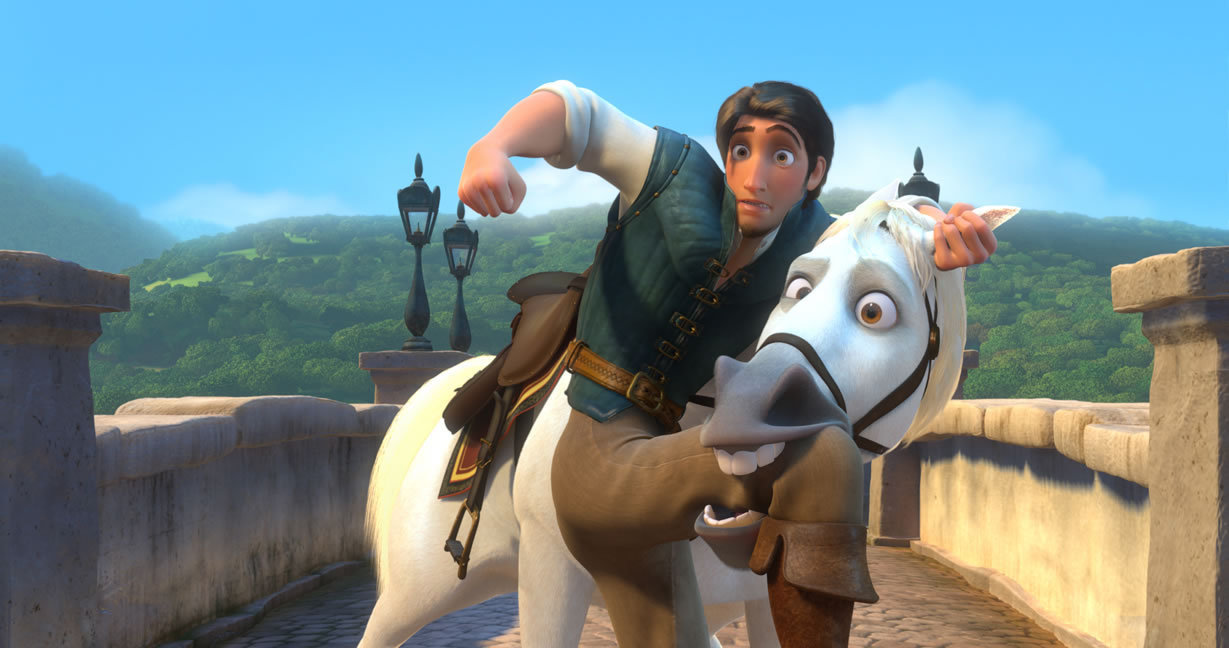 Beames on film 39 tangled 39 review - Raiponce maximus ...