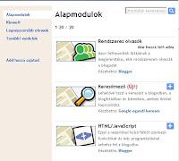 blogspot modulok