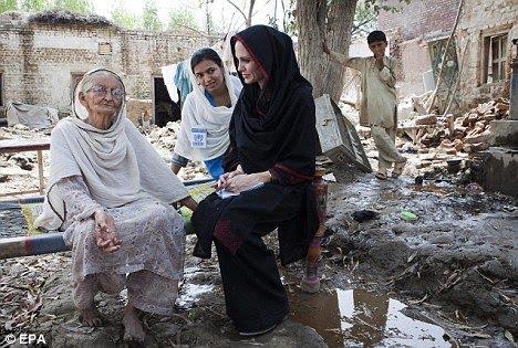 "Angelina Jolie, ""UN Ambassador"""