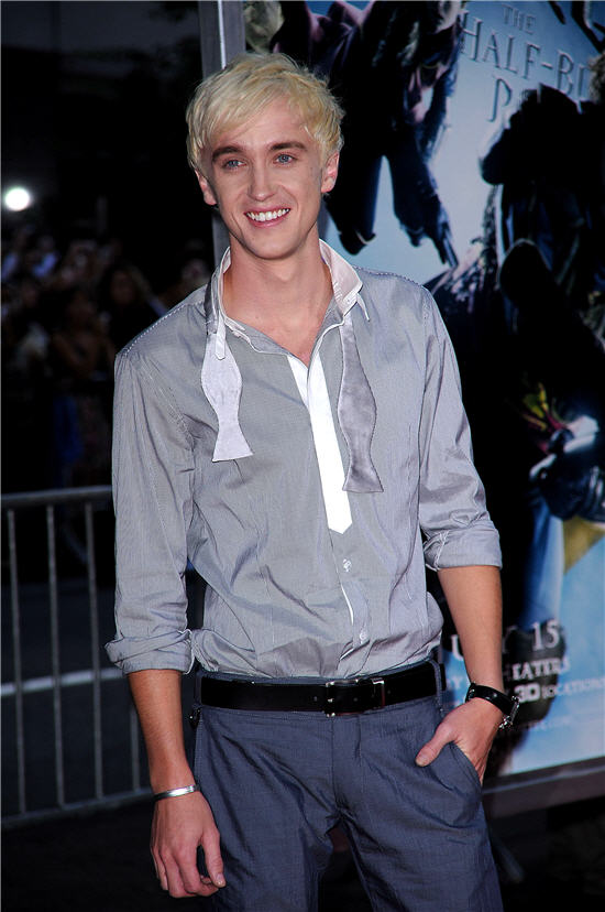 tom felton lost childhood due to