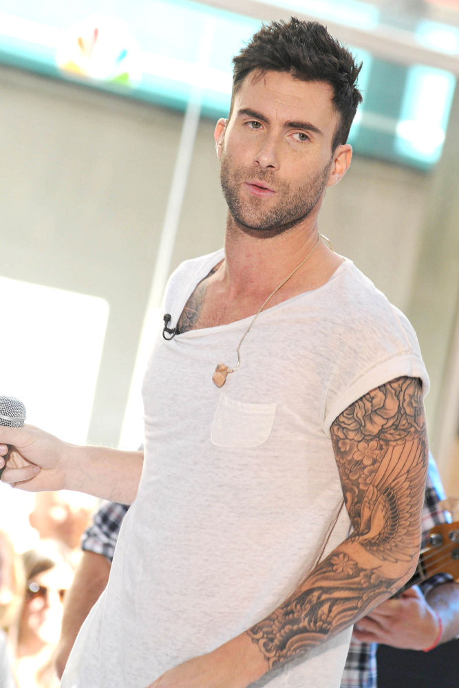 adam levine testicular cancer. Adam Levine chooses an extreme