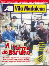 DJ Chris Souldeep na Capa da Revista Vila Madalena