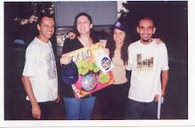 DJ`s Iraí Campos, Alexandra, Cláudia (Minha Esposa) e eu, DJ Chris Souldeep