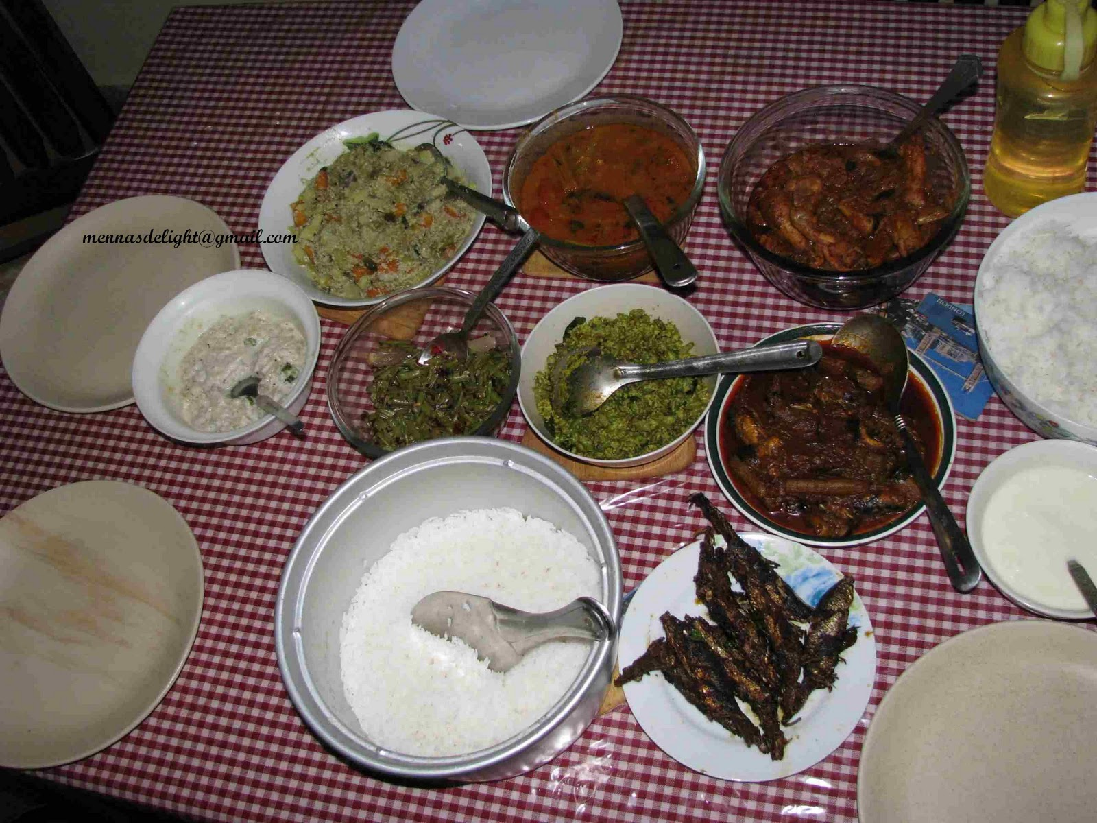Kerala Recipes and Kerala Dishes