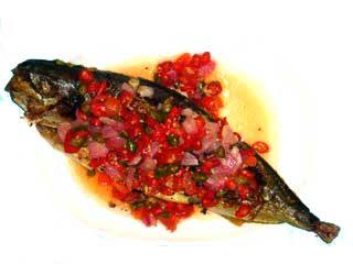Resep Makanan Indonesia: Ikan Bakar Sambal Dabu-Dabu