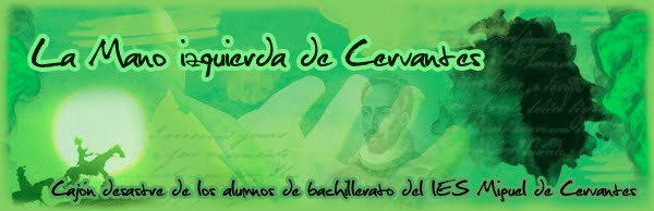 La mano izquierda de Cervantes