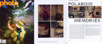 My Polaroid Transfers in PhotoEd Magazine