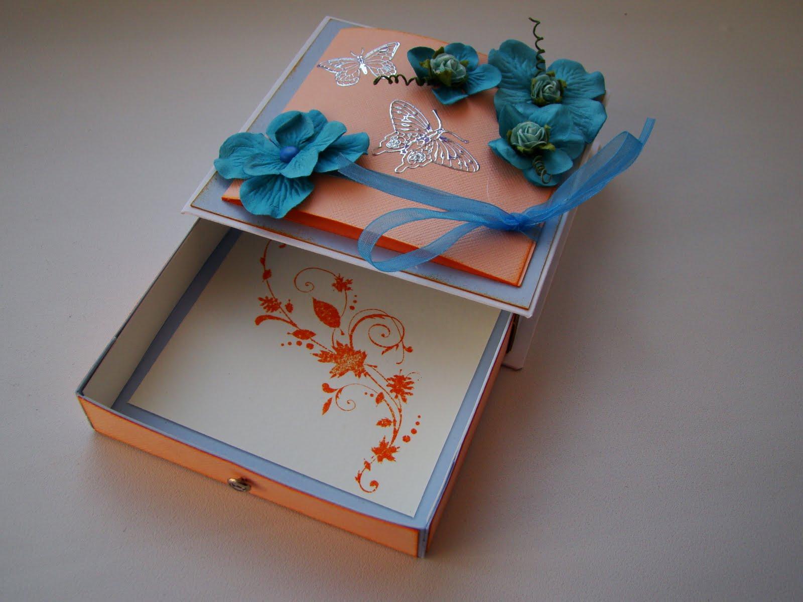Коробка из открыток 55