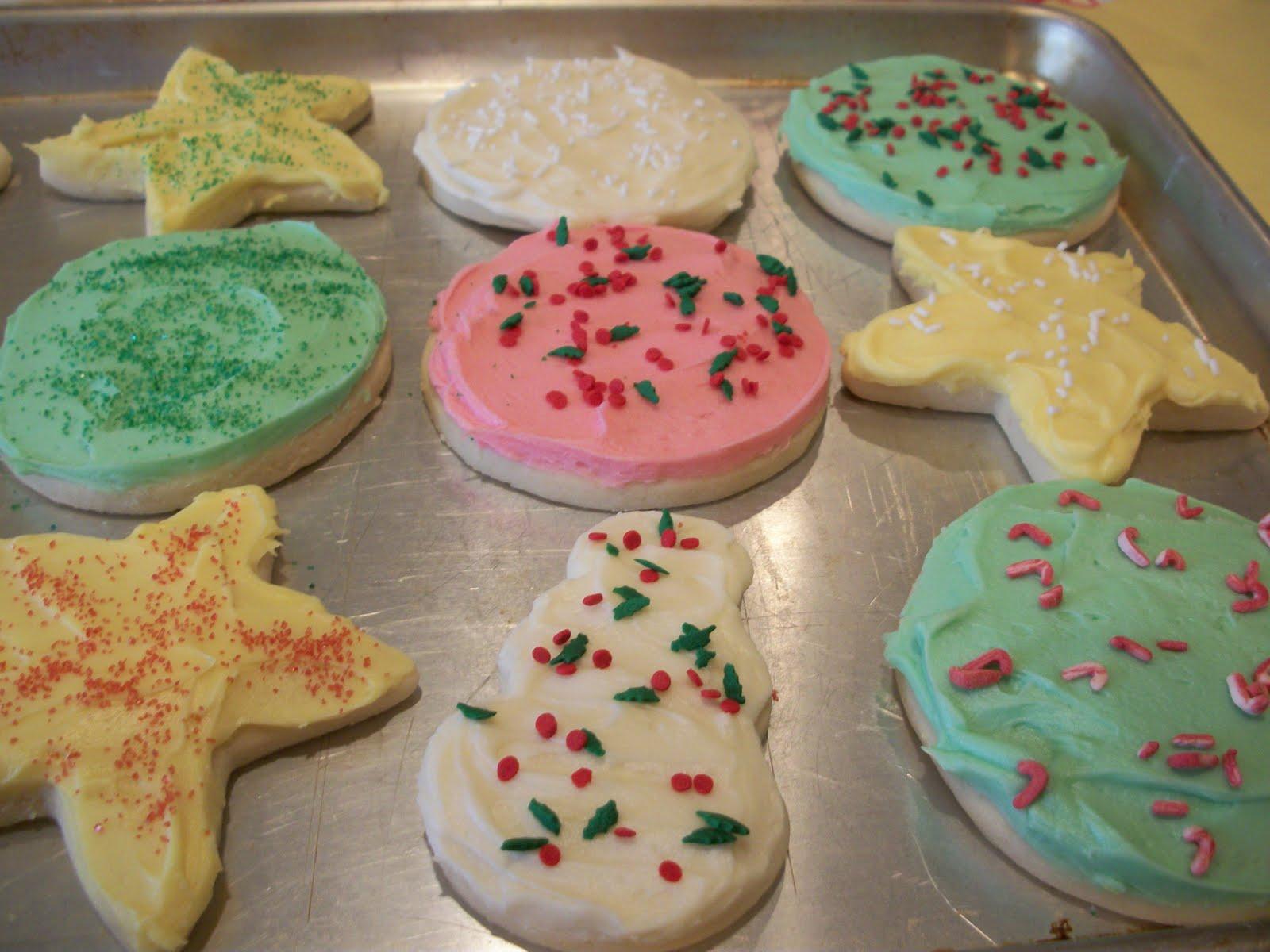 Lark's Country Heart: Soft Christmas Sugar Cookies w ...