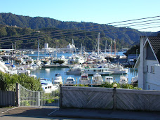 The view of Picton Harbour from our new home