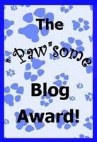 Paw'some award
