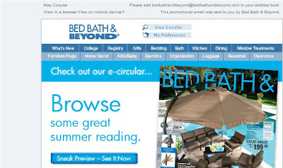 Click to view this Apr. 20, 2009 Bed Bath & Beyond email full-sized