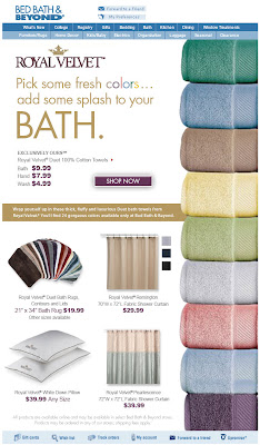Click to view this June 23, 2009 Bed Bath & Beyond email full-sized