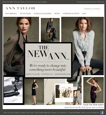 Click to view this Sept. 1, 2009 Ann Taylor email full-sized