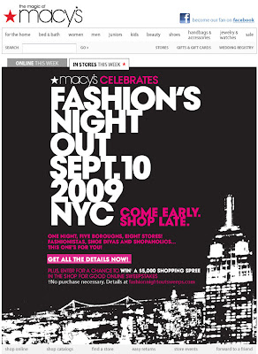 Click to view this Sept. 3, 2009 Macy's email full-sized