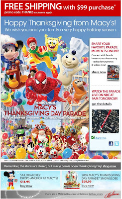 Click to view this Nov. 25, 2009 Macy's email full-sized