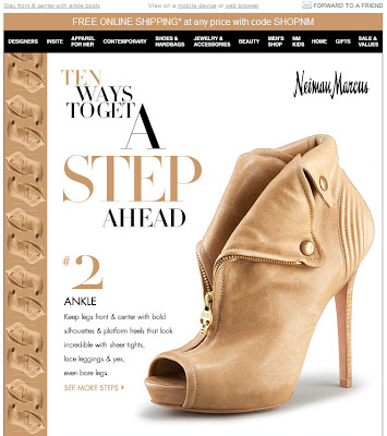 Click to view this June 26, 2010 Neiman Marcus email full-sized