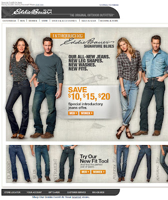 Click to view this Aug. 9, 2010 Eddie Bauer email full-sized without the extra width