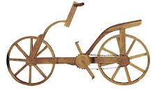 Primera idea de la bicicleta