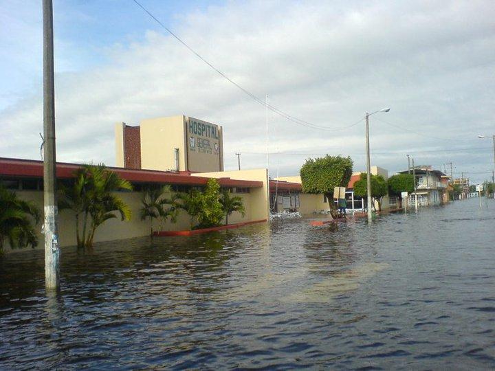 las inundaciones en veracruz