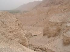 Qumran by die Dooie See