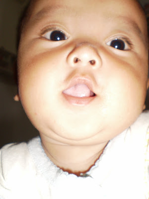 baby farzan doing MMR vaccine