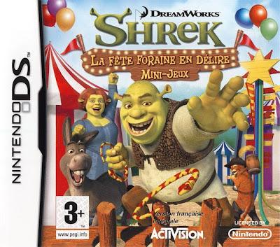 Shrek : La Fête Foraine en Délire : Mini-Jeux DS