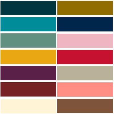 Mode essentielle les couleurs tendance de la rentr e - Les couleurs tendances ...