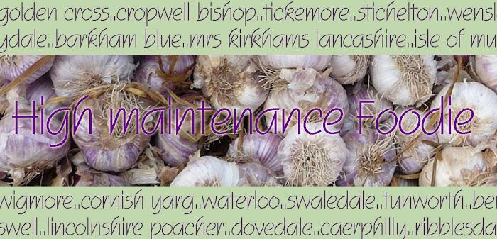 High Maintenance Foodie