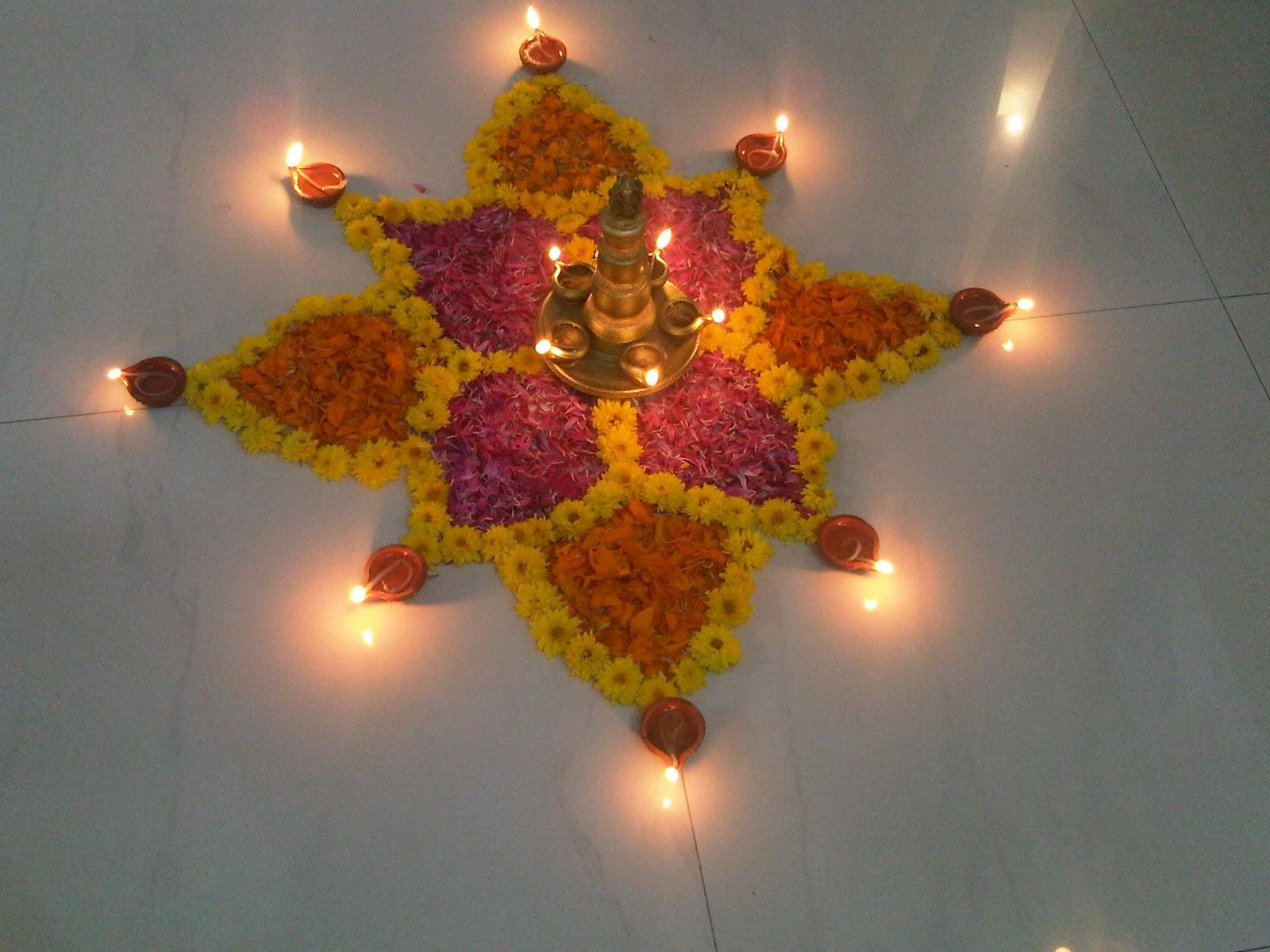 Minakshi fatepuria diwali decoration for Simple diwali home decorations