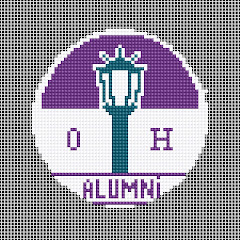 Needlework ornament for Ottawa Hills Alumni