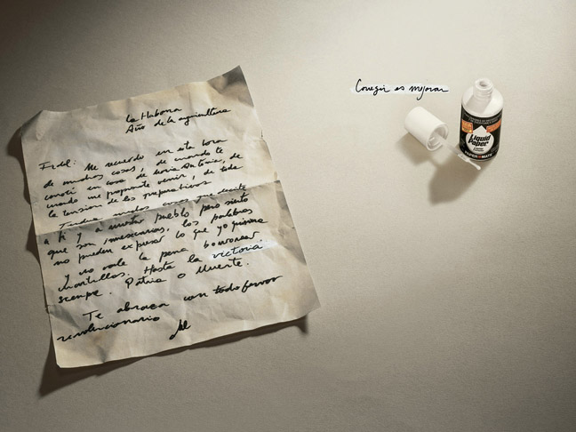 """""""Hasta la victoria siempre"""" para Liquid Paper"""