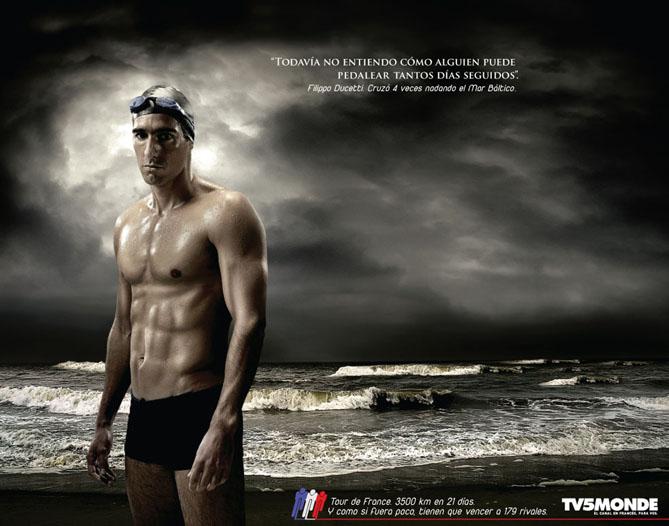 """""""Nadador"""" para TV5 Monde"""