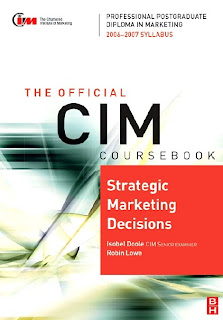 Download Free ebooks CIM Coursebook - Strategic Marketing Decisions