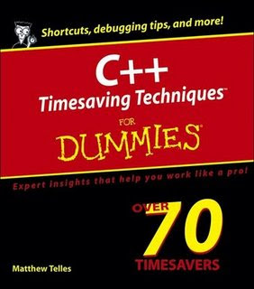 Download Free ebooks C++ Timesaving Techniques For Dummies