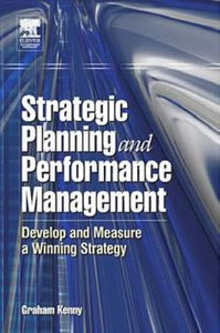 Download Free ebooks Strategic Planning and Performance Management
