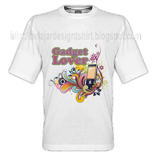gadget lover t-shirt design